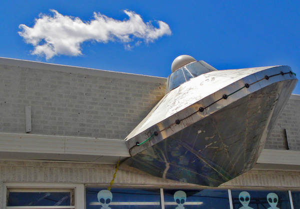 Photograph - Roswell Alien Spacecraft by Gregory Dyer