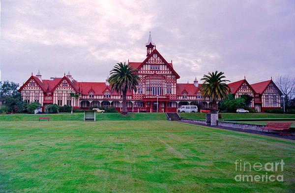 Photograph - Rotorua Government House by Mark Dodd
