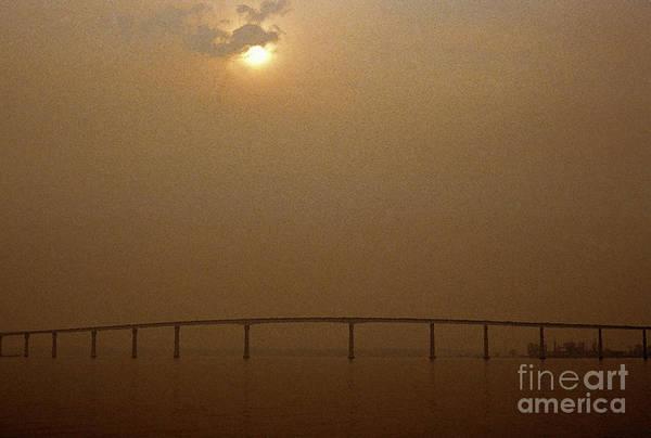 Photograph - Route 4 Bridge Solomons Island by Thomas R Fletcher