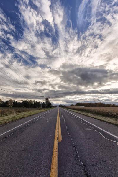 Genesee Photograph - Route 436 by Rick Berk