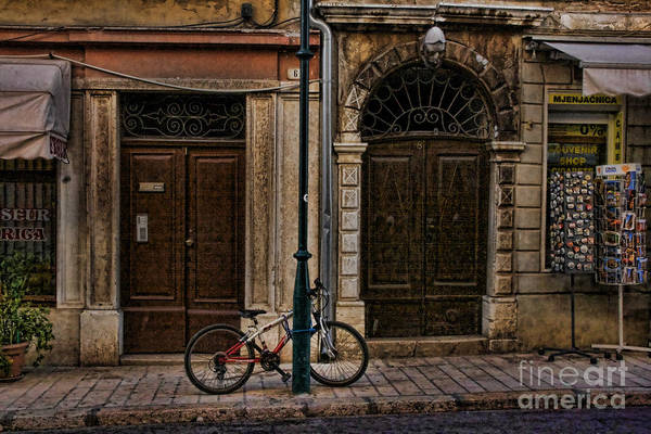 Photograph - Rovinj Bicycle by Crystal Nederman