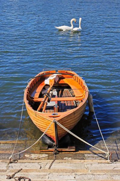 Swan Boats Photograph - Rowboat by Joana Kruse
