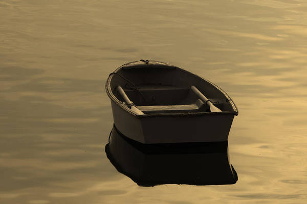 Photograph - Rowboat by Kyle Lee