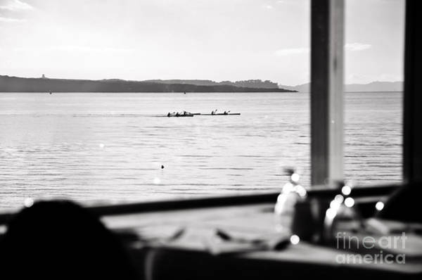 Devonport Wall Art - Photograph - Rowing by Yurix Sardinelly