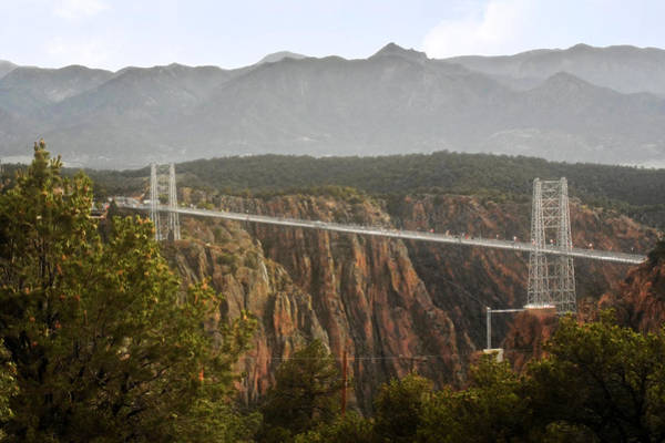 Wall Art - Photograph - Royal Gorge Bridge Colorado - The World's Highest Suspension Bridge by Christine Till