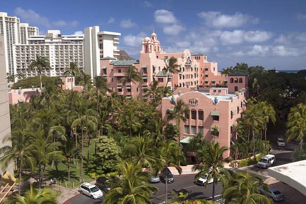 Wall Art - Photograph - Royal Hawaiian Hotel by Peter French