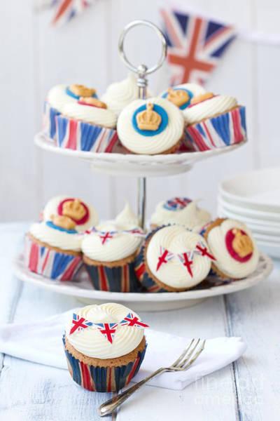 Wall Art - Photograph - Royal Jubilee Cupcakes by Ruth Black