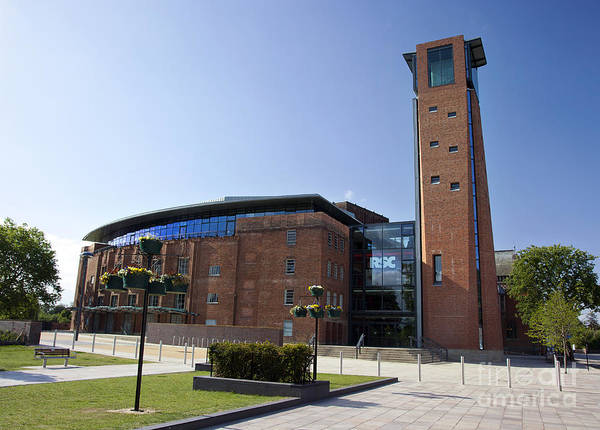 Warwickshire Photograph - Royal Shakespeare Theatre by Jane Rix