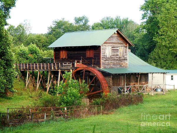 Wall Art - Photograph - Rt 221 Gristmill by Pauline Ross
