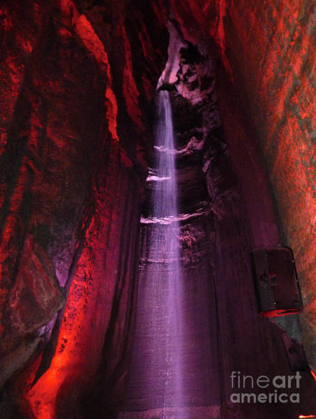 Photograph - Ruby Falls Waterfall 8 by Mark Dodd
