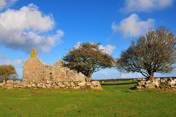 Wall Art - Photograph - Ruins Of Old Chapel by Mark Youlden