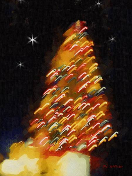 Painting - Rum Punch Christmas by RC DeWinter