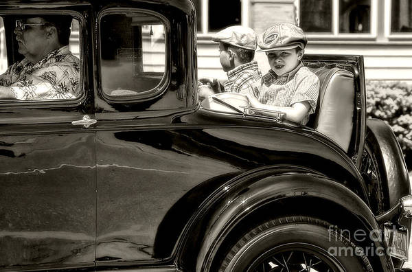 Photograph - Rumble Seat by Terry Doyle