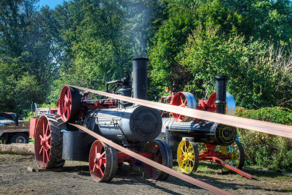 Photograph - Rumley Powers The Saw by Mark Dodd