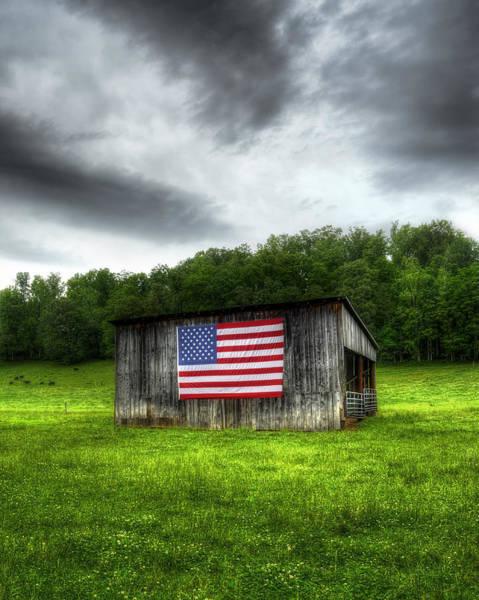 Wall Art - Photograph - Rural Barn by Steve Hurt