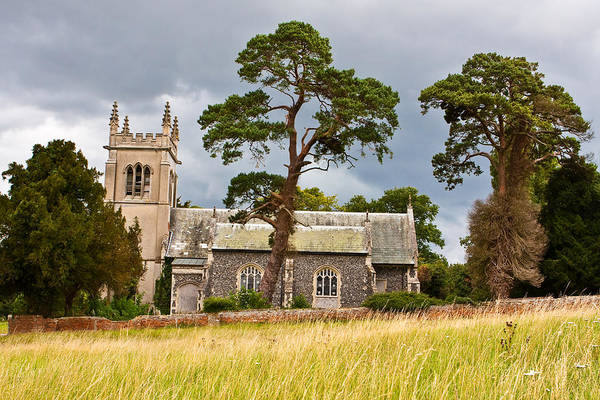 English Countryside Photograph - Rural Church by Tom Gowanlock