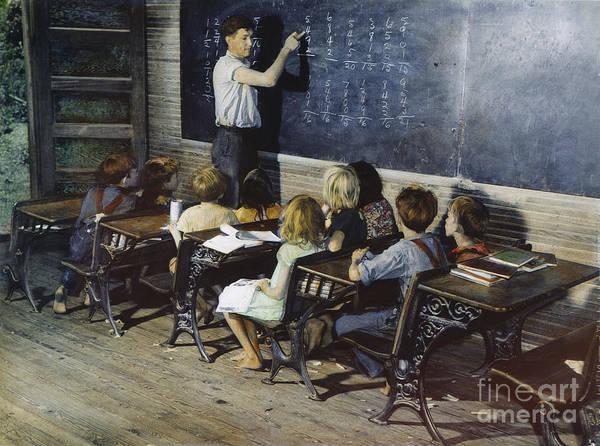 Photograph - Rural School, 1930s by Granger