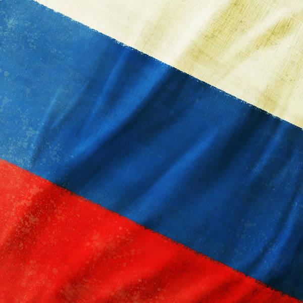 Duty Wall Art - Photograph - Russia Flag by Setsiri Silapasuwanchai