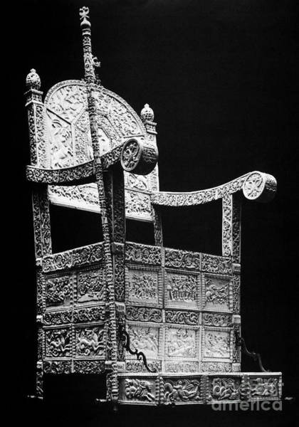 Photograph - Russia: Throne Of Ivan Iv by Granger