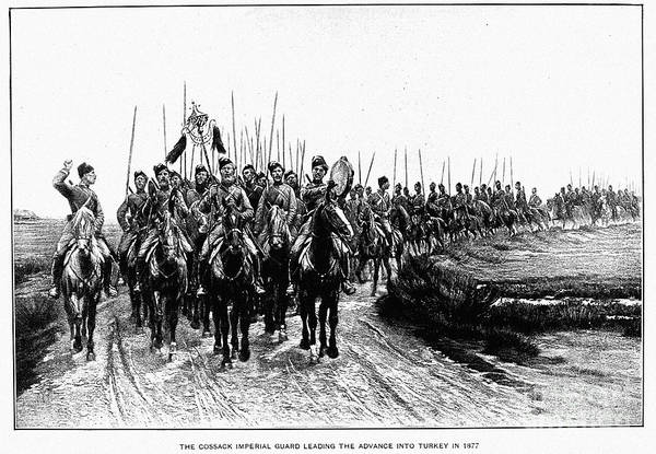 Imperial Russia Photograph - Russo-turkish War, 1877-78 by Granger