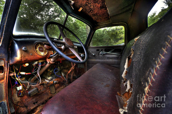 Clunker Wall Art - Photograph - Rust In Peace by Jane Brack