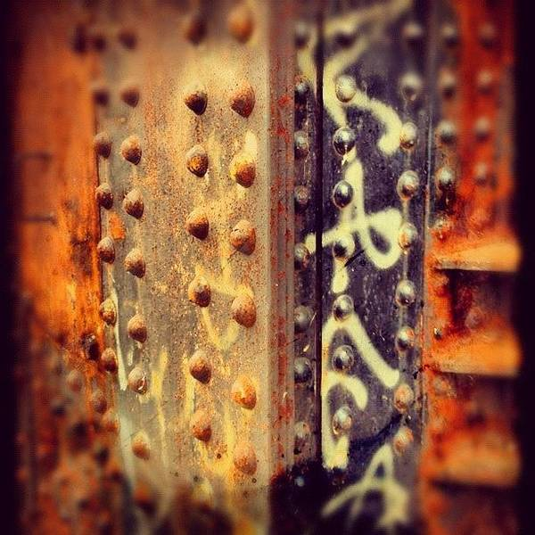 Steel Photograph - Rust by Isabel Poulin