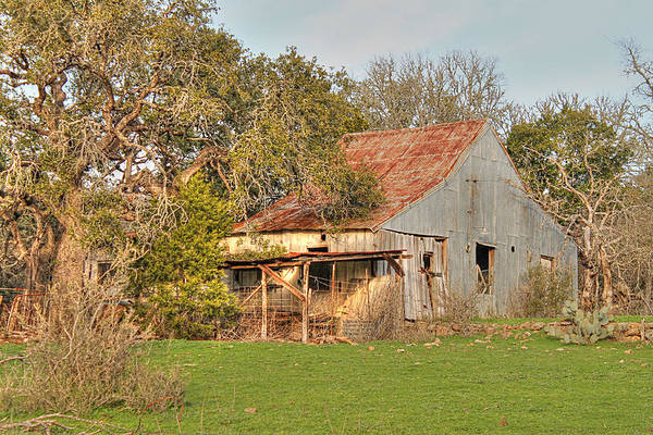 Photograph - Rustic Barn II by Sarah Broadmeadow-Thomas