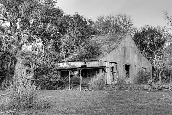 Photograph - Rustic Barn by Sarah Broadmeadow-Thomas