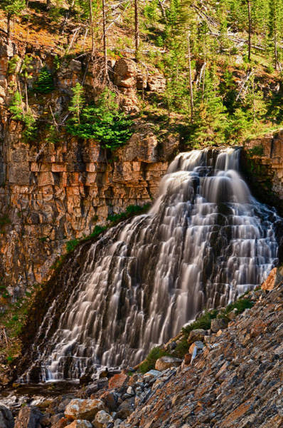 Photograph - Rustic Falls by Greg Norrell