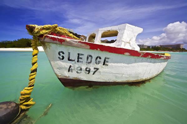 Photograph - Rustic Fishing Boat Of Aruba II by David Letts