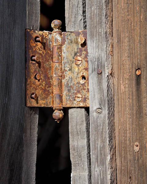Wall Art - Photograph - Rusty Hinge by Kelley King