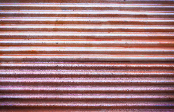 Tin Roof Wall Art - Photograph - Rusty Metal by Tom Gowanlock