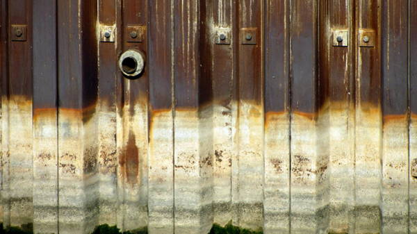 Photograph - Rusty Wall In The City by Anita Burgermeister