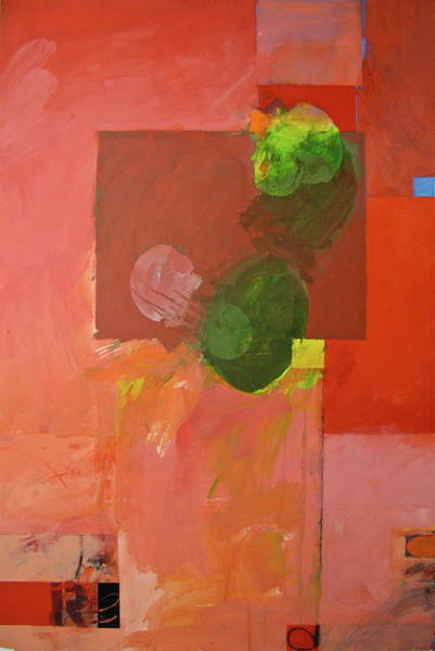 Painting - Ryb -red by Cliff Spohn