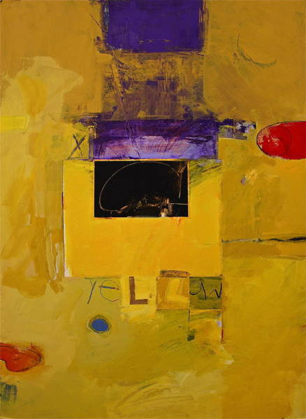 Painting - Ryb -yellow by Cliff Spohn