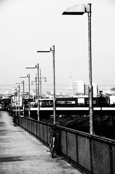 Station To Station Photograph - S-bahn To Berlin by Falko Follert