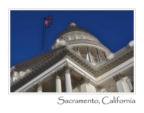 Capitol Digital Art - Sacramento by Brandon Bourdages