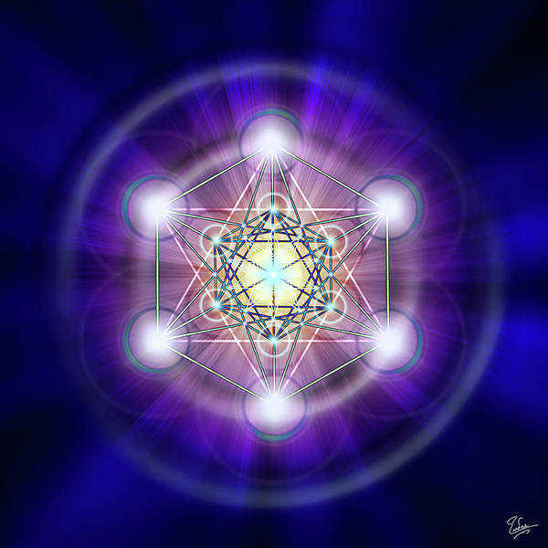 Digital Art - Sacred Geometry 20 by Endre Balogh