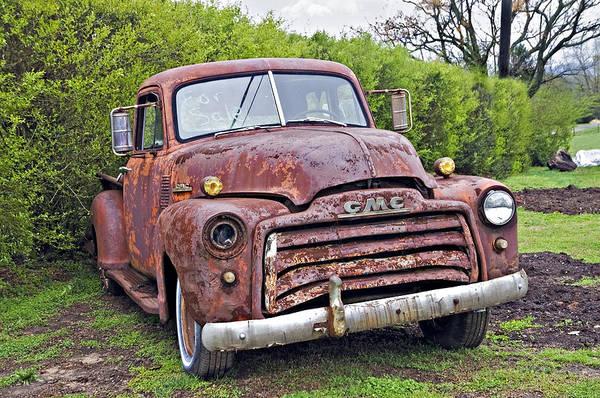 Sad Truck Art Print