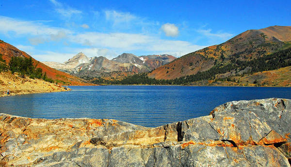 Photograph - Saddlebag Lake by Lynn Bauer