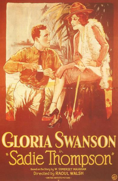Gloria Swanson Photograph - Sadie Thompson by Georgia Fowler