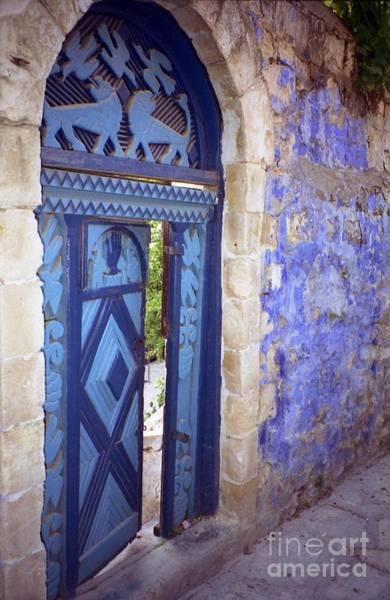 Safed Door Art Print