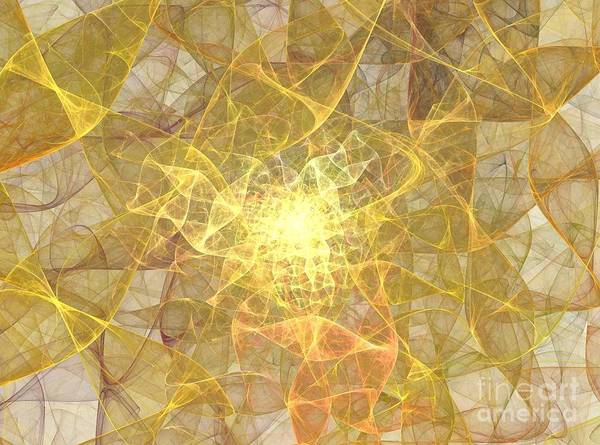 Saffron Digital Art - Saffron by Kim Sy Ok