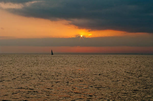 Wall Art - Photograph - Saginaw Bay Sunset by Melissa  Riggs