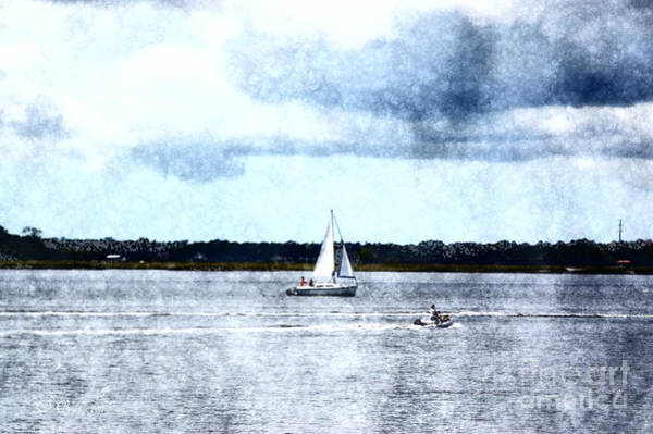 Photograph - Sailboat In Charleston by Donna Bentley