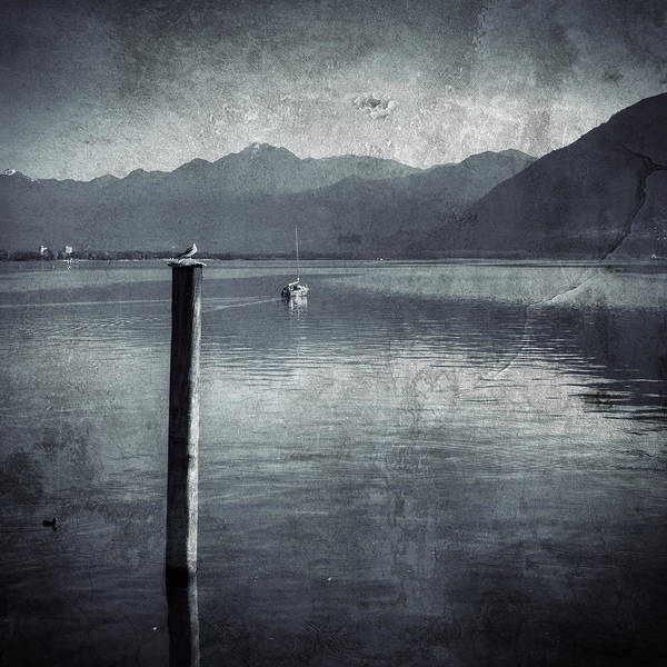 Ticino Photograph - Sailboat On Lake Maggiore by Joana Kruse