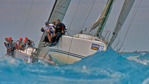 Photograph - Sailboat Racing In Florida by Steven Lapkin