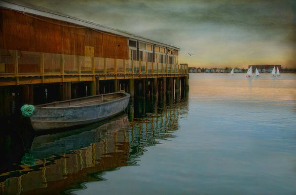 Newport Ri Wall Art - Photograph - Sailboats Have More Fun by Robin-Lee Vieira