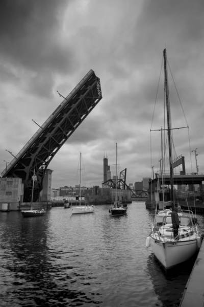Photograph - Sailboats Parking By The 18th Street Bridge by Sven Brogren