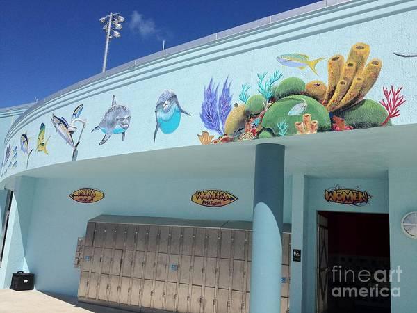 Wall Art - Painting - Sailfish Splash Park 4 by Carey Chen
